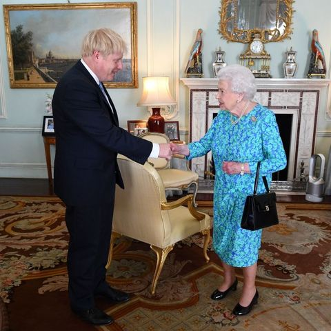 Image result for Boris Johnson Queen