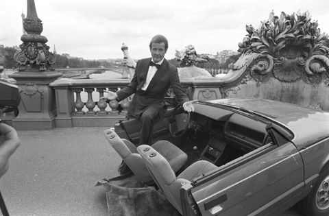 Roger Moore In Paris