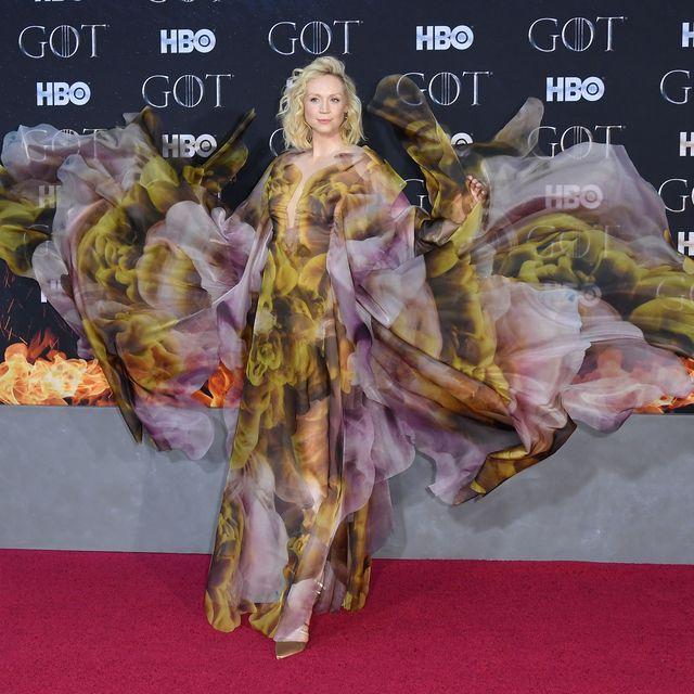 Gwendoline Christie Stuns In Iris Van Herpen Dress At Game Of Thrones Premiere