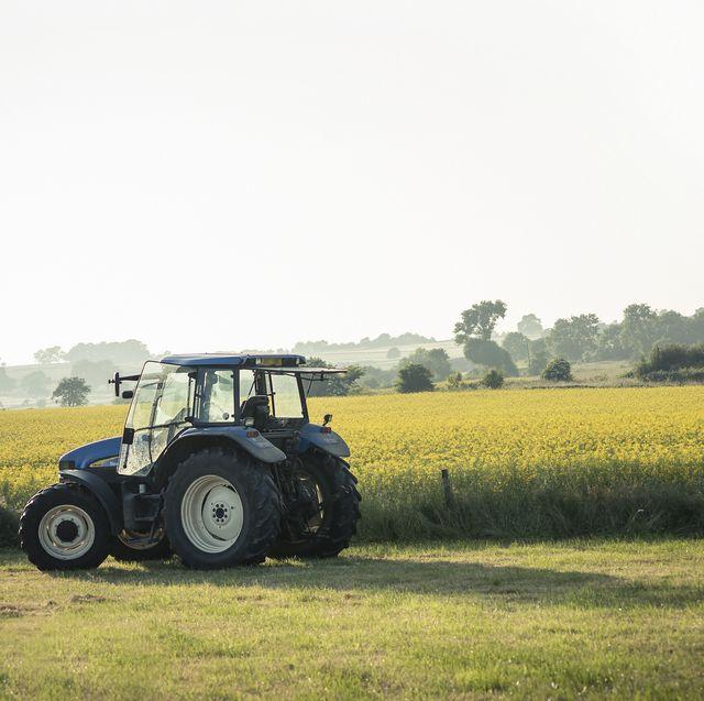 british farmer's tractor