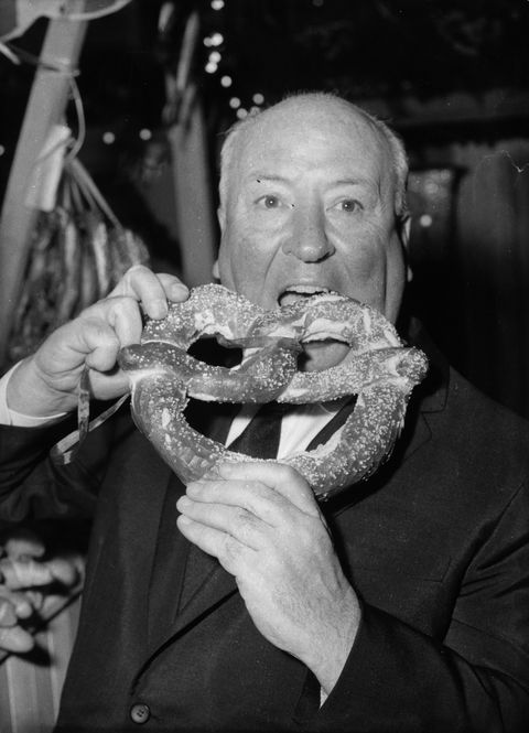 alfred hitchcock at psycho premiere
