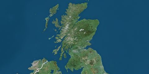 Map Of Britain: Mapmakers Banned From Putting Shetland ...