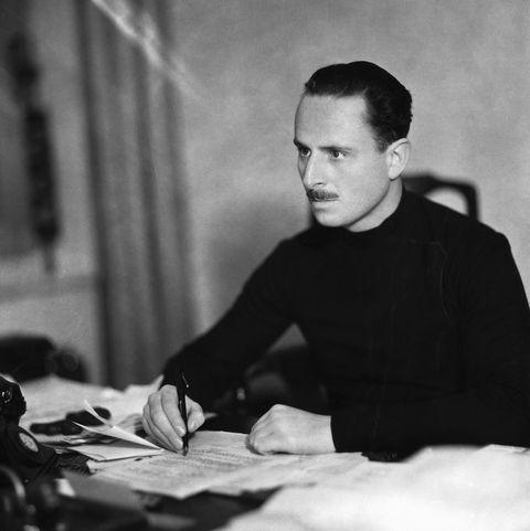 Fascist Leader Sir Oswald Mosley