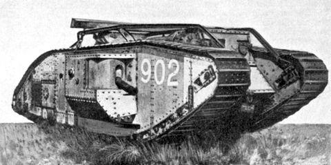 Cartier tank -British Army Tank WW1