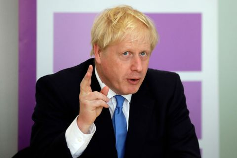 Boris Johnson Attends The First Meeting Of The National Policing Board