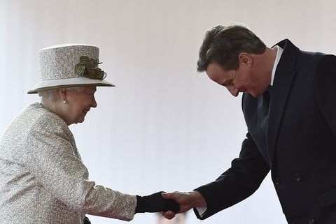 queen elizabeth david cameron