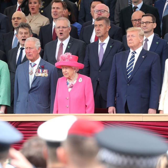 British D-Day Commemoration In Portsmouth