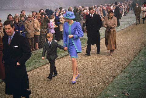 The royal family at Sandringham