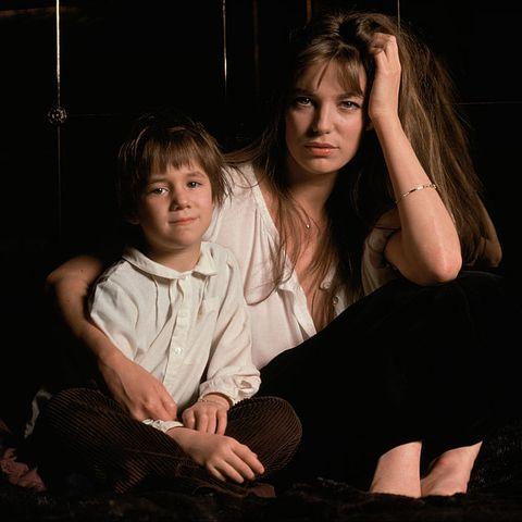 Jane Birkin and her Daughter Charlotte