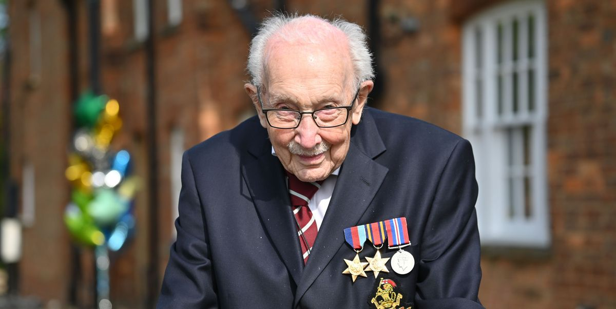 The Royal Family Is Sharing Support for 99-Year-Old Captain Tom Moore's Fundraiser for the NHS