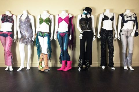 Britney Spears Costumes Go For Sale On Ebay Iconic Costumes From