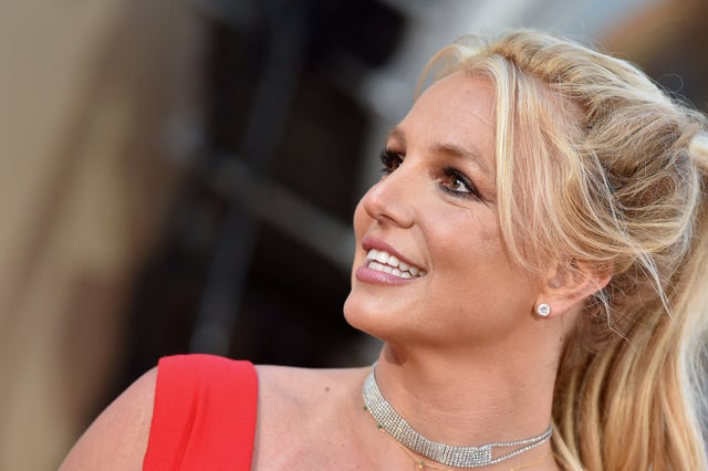 """hollywood, california   july 22 britney spears attends sony pictures' """"once upon a time  in hollywood"""" los angeles premiere on july 22, 2019 in hollywood, california photo by axellebauer griffinfilmmagic"""