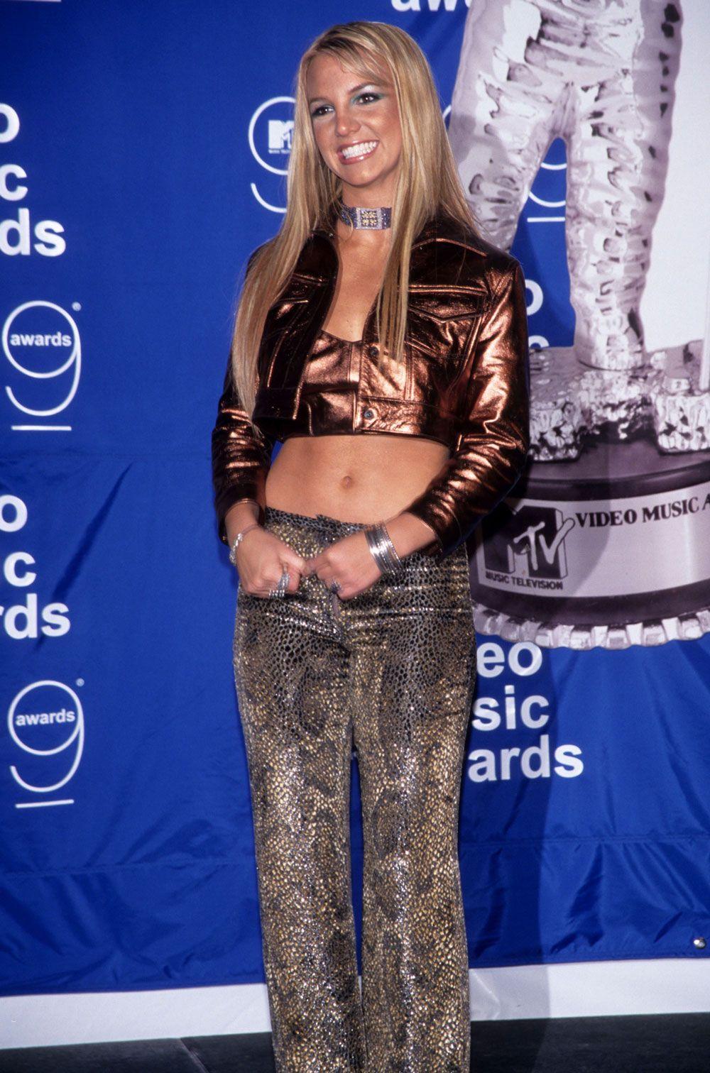 Britney Spears 1999 MTV Video Music Awards