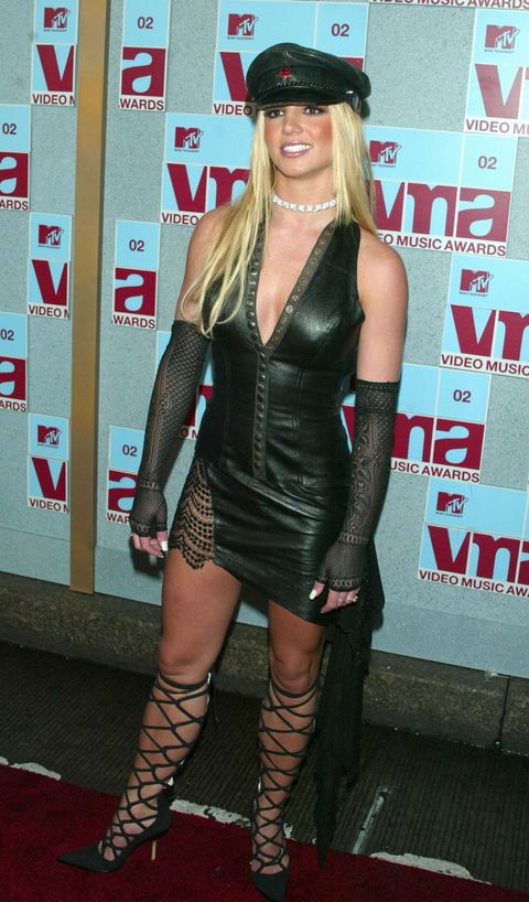 Britney Spears 2002 MTV Video Awards