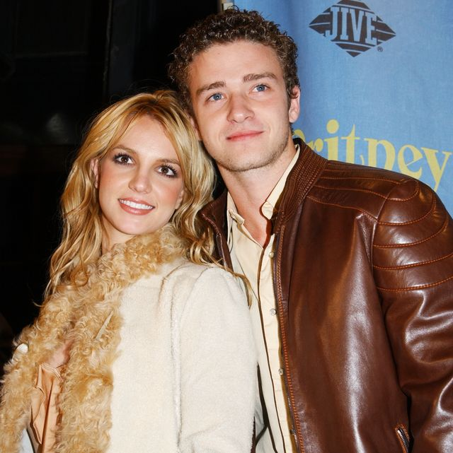 britney spears and boyfriend, 'n sync's justin timberlake, a
