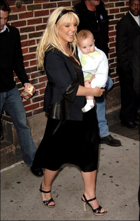 "britney spears at the ""late show"" with david letterman nyc"