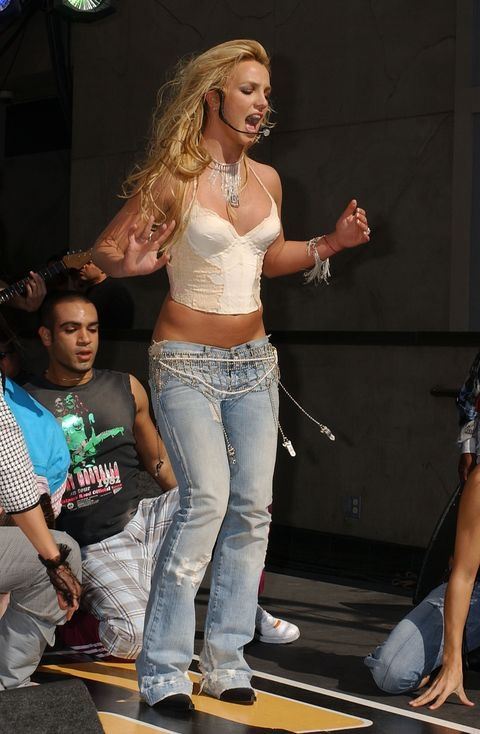 """Britney Spears Performs Live on """"On Air with Ryan Seacrest"""""""