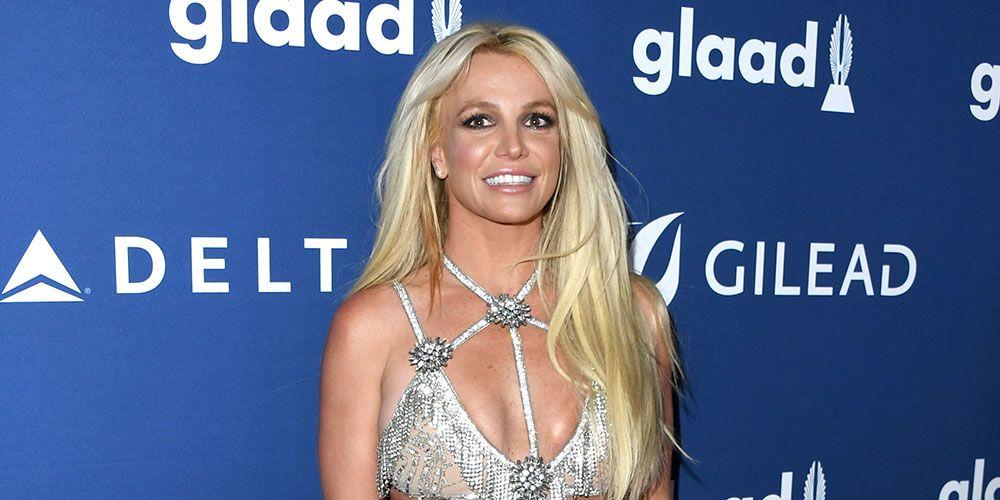 BritneySpears GLAAD Awards Dress