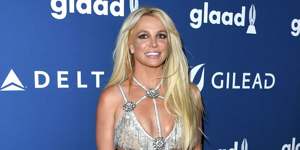 Britney Spears Wore A Sparkly Naked Dress To The 2018 Glaad Awards-1781