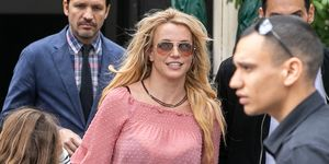 Britney Spears Sighting In Paris - August 27, 2018