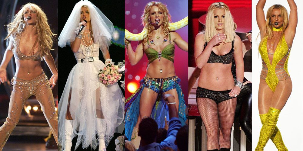 Britney Spears MTV Video Music Awards outfits