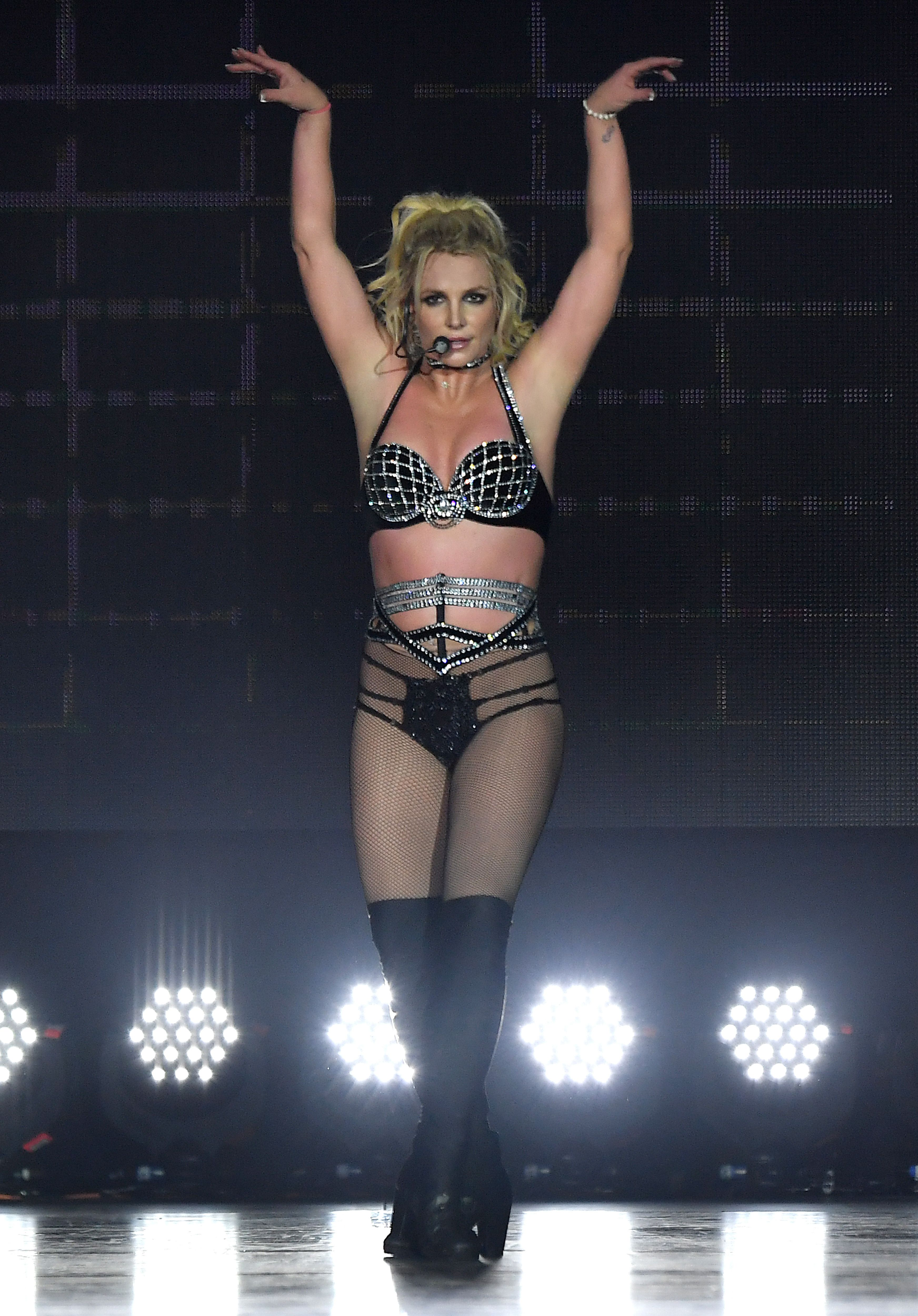Britney Spears 'Piece Of Me' Summer Tour - London