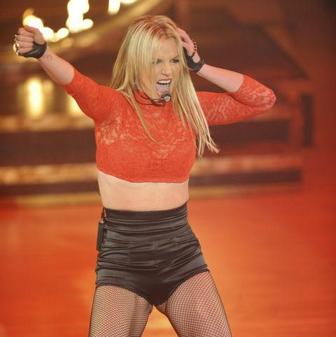 """britney spears performs on abc's """"good morning america""""   december 2, 2008"""
