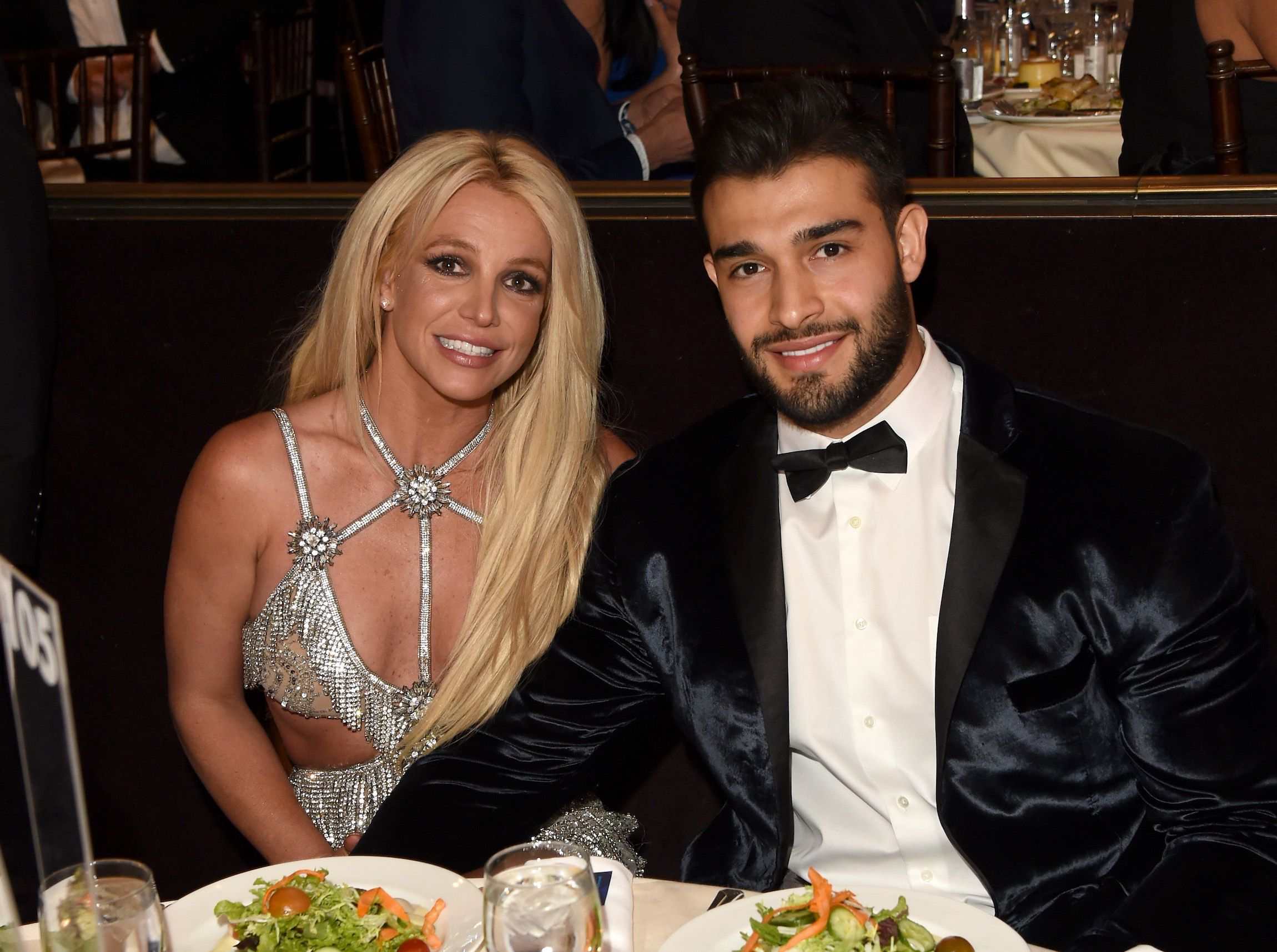 Britney Spears and Sam Asghari together