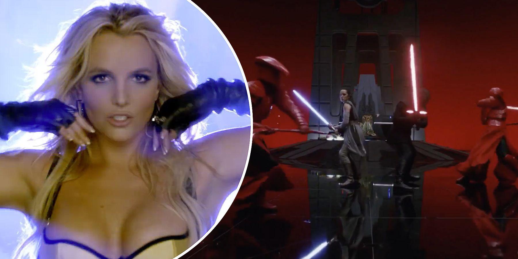 Mashup entre 'Star Wars' y Britney Spears - Star Wars Los últimos Jedi