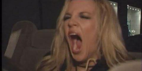 britney spears, britney, yawn, tired,