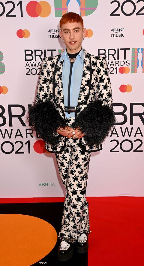 the brit awards 2021 olly alexander