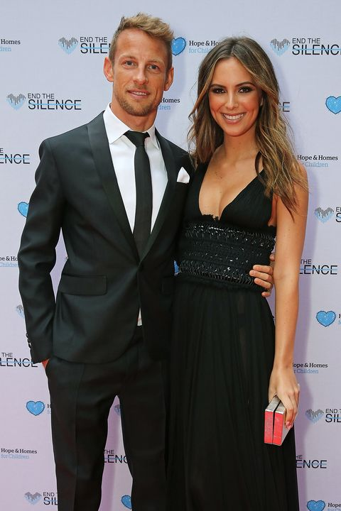 Brittny Ward  Jenson Button