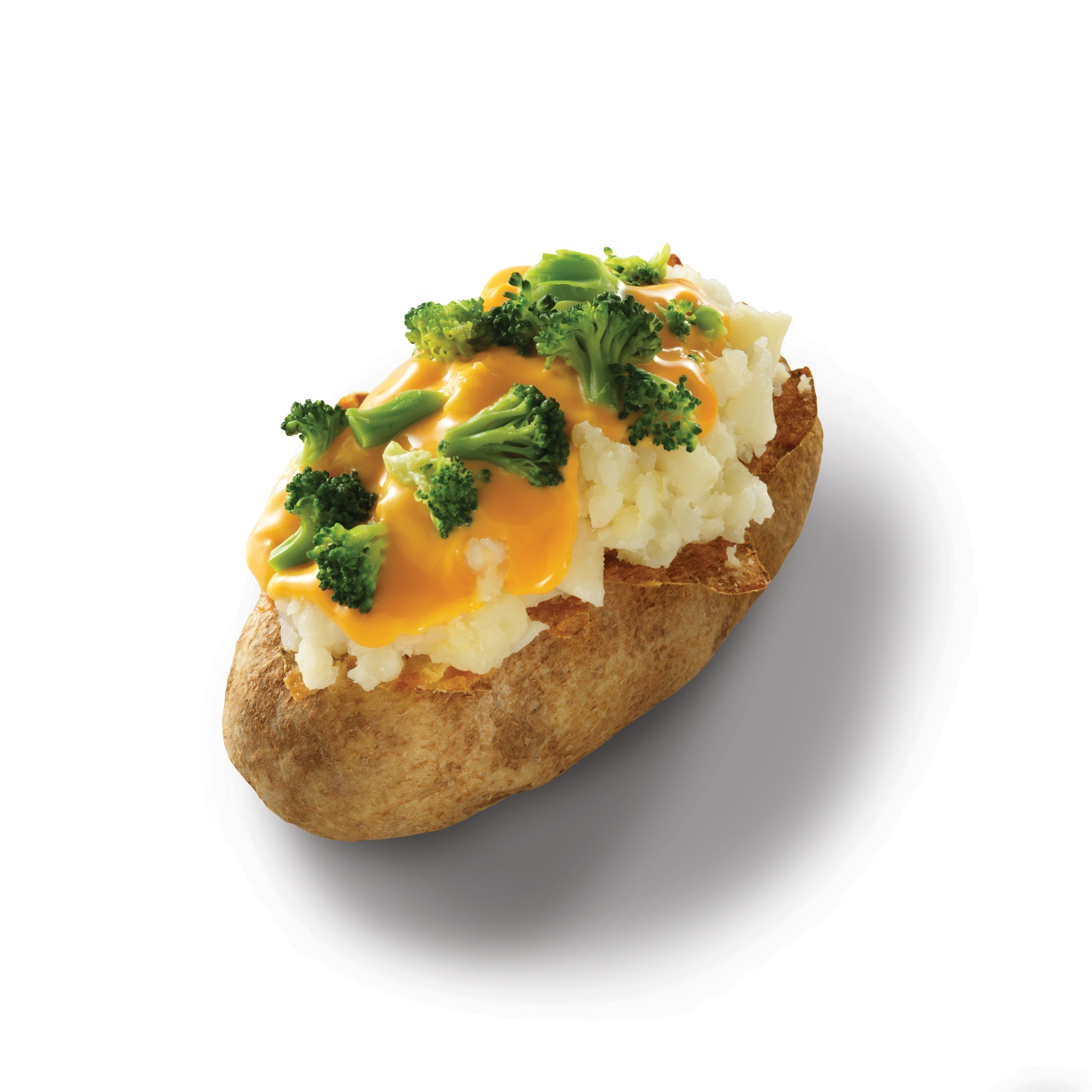 Wendy's broccoli and cheese baked potato