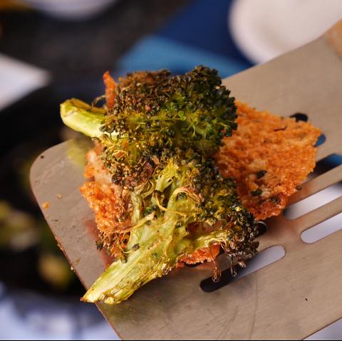 broccoli cheese crisps  delishcom