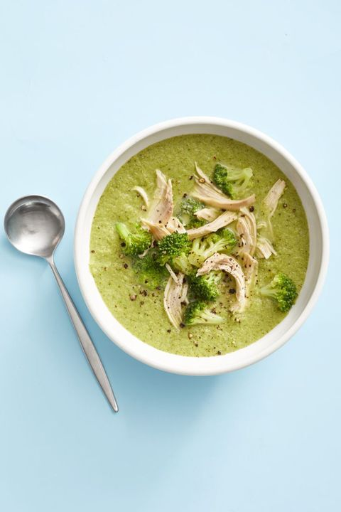 broccoli parmesan chicken soup