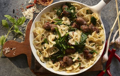 Spicy Broccoli Rabe and Sausage Pasta