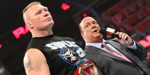 Brock Lesnar on WWE Monday Night Raw
