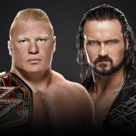 WWE WrestleMania 36: Brock Lesnar vs Drew McIntyre
