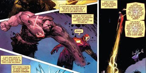 Brock Lesnar, Marvel Comic