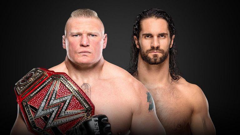 Brock Lesnar (c) vs Seth Rollins