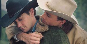 Heath Ledger Jake Gyllenhaal Brokeback Mountain