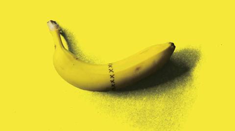 Banana family, Banana, Yellow, Cooking plantain, Fruit, Peel, Plant, Slug,
