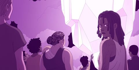 Purple, Illustration, Violet, Pink, Fun, Design, Magenta, Art, Animation, Gesture,