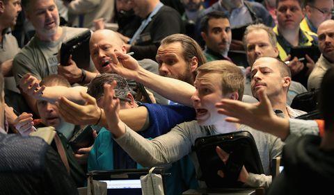 brokers dow jones caida historica reacciones