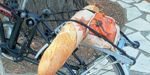 french bread brompton bike