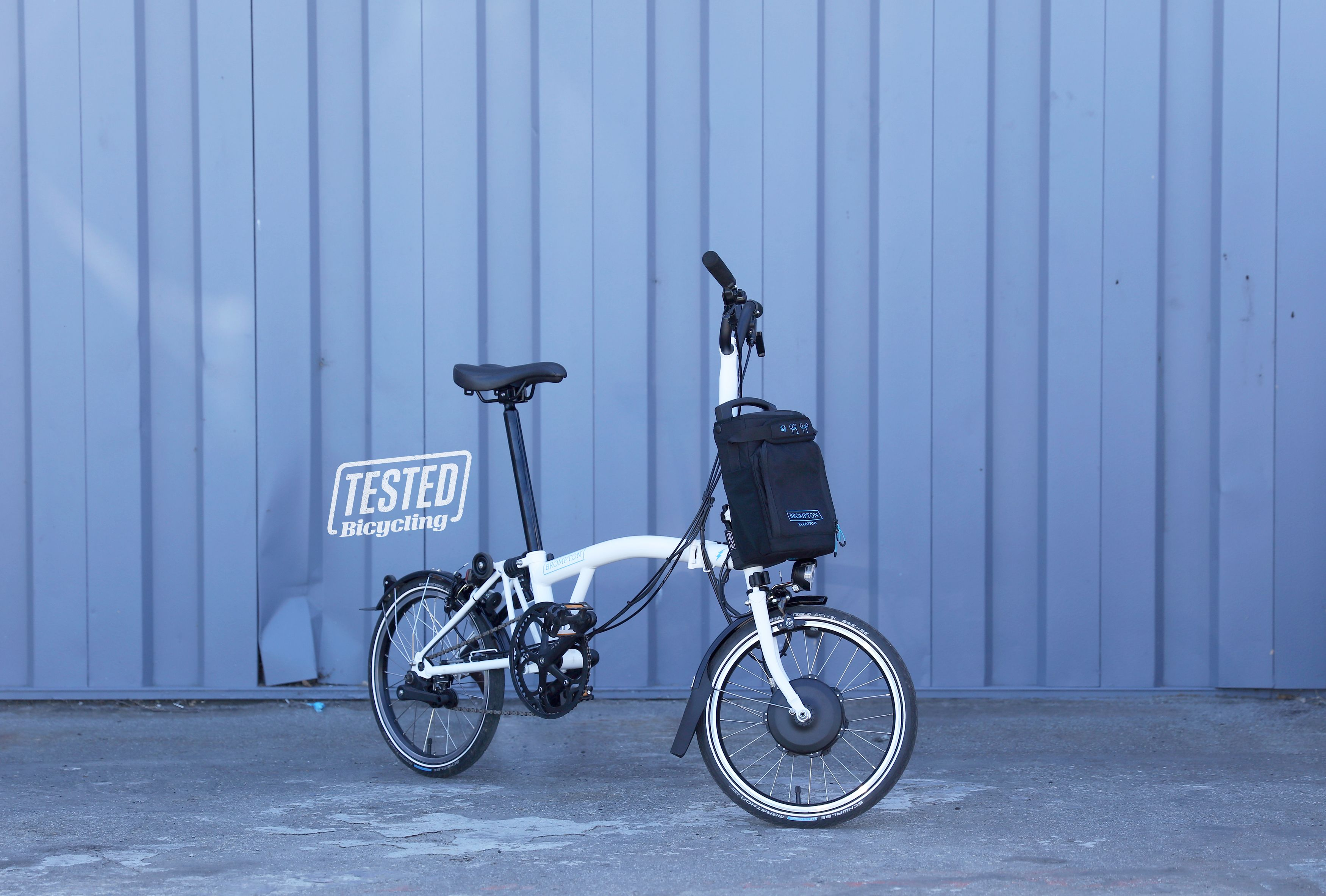 fcdb0f347c3 The New Brompton Electric Is the Most Functional Folding E-Bike We've Seen