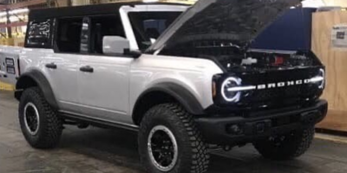 2021 Ford Bronco Leaked Pictures Of Production Bronco Suv