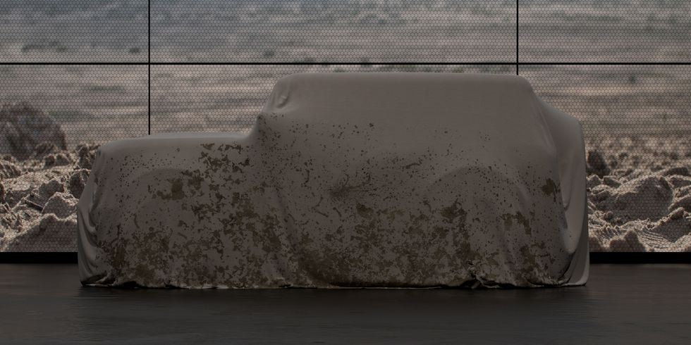 Here's Your First Look at the 2020 Ford Bronco