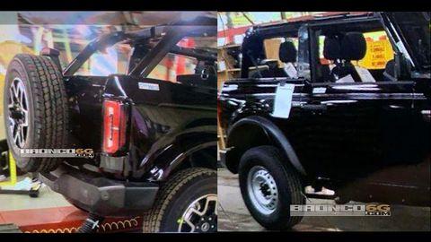 Ford Bronco spy shot