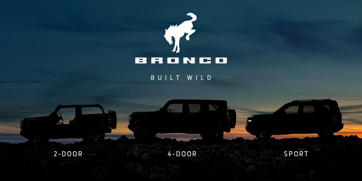 New Ford Bronco Gets a Tagline: Built Wild